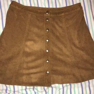 Abercrombie Corduroy -ish skirt with buttons